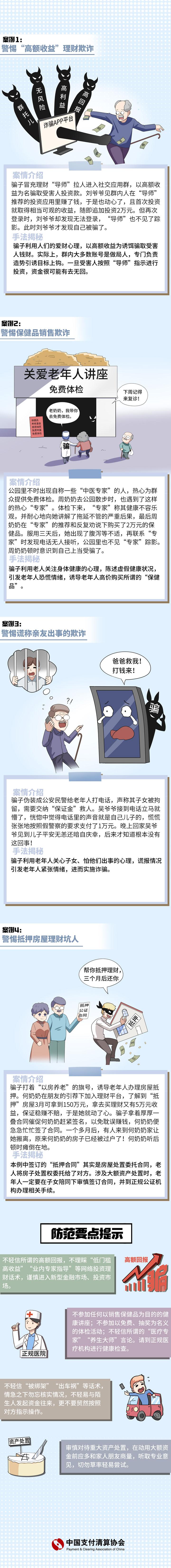 【正文】老年人防范欺诈案例